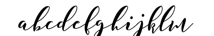 Saffron Font LOWERCASE