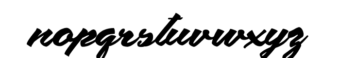 Safira Shine Personal Use Font LOWERCASE