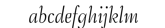 Safrole Font LOWERCASE