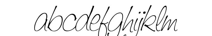 Saginaw  Light Font LOWERCASE