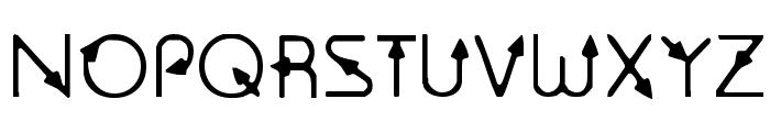 Sagittarius Font UPPERCASE