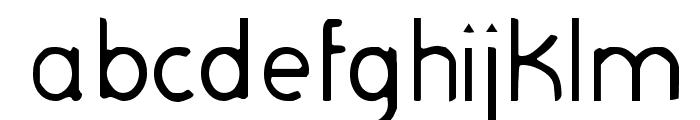 Sagittarius Font LOWERCASE