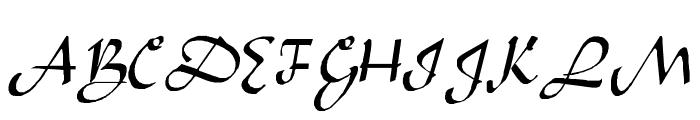 Sahara-Normal Font UPPERCASE