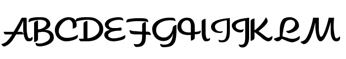 Sahara Font UPPERCASE