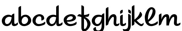Sahara Font LOWERCASE