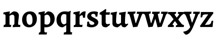 Sahitya Bold Font LOWERCASE