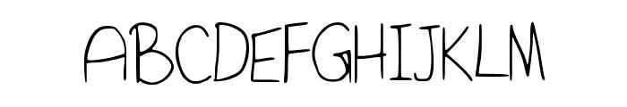 SaidItInASimpleWay Font UPPERCASE