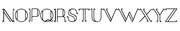 Sail Away Font UPPERCASE