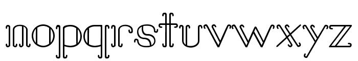 Sail Away Font LOWERCASE