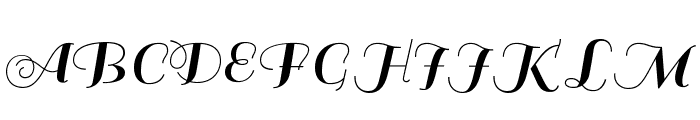 Sail-Regular Font UPPERCASE