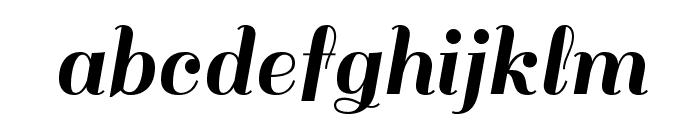 Sail-Regular Font LOWERCASE
