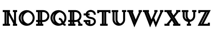 Sailor Bold Font UPPERCASE