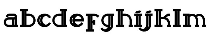 Sailor Bold Font LOWERCASE
