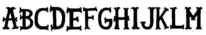 Sailor Gonzalez Font UPPERCASE