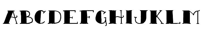 Sailor Scrawl Black Regular Font UPPERCASE