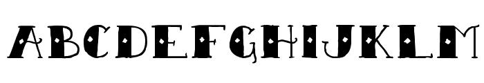Sailor Scrawl Regular Font UPPERCASE