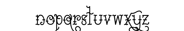 Sailorette Tattoo Font LOWERCASE
