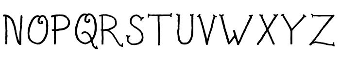 Sailor's Delight Regular Font UPPERCASE
