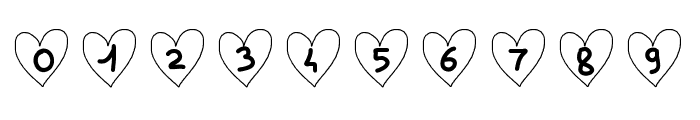 SaintValentin Font OTHER CHARS