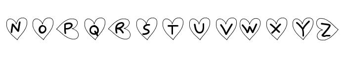 SaintValentin Font UPPERCASE