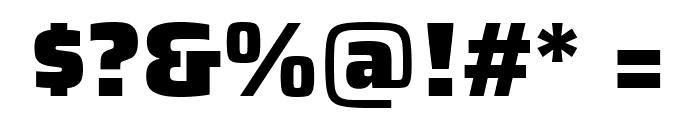 Saira Black Font OTHER CHARS