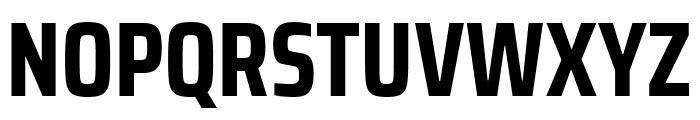 Saira Condensed Bold Font UPPERCASE