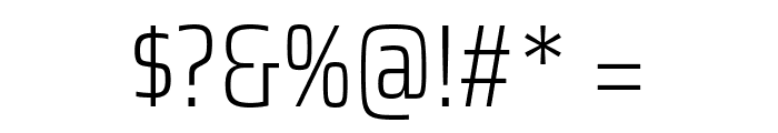 Saira Condensed ExtraLight Font OTHER CHARS