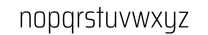 Saira Condensed ExtraLight Font LOWERCASE