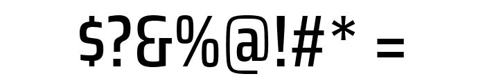 Saira Condensed Medium Font OTHER CHARS