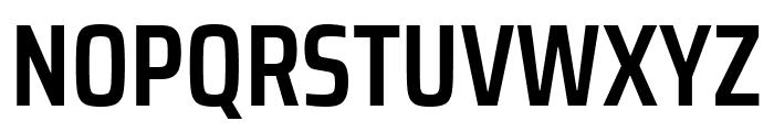 Saira Condensed SemiBold Font UPPERCASE