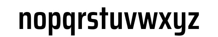 Saira Condensed SemiBold Font LOWERCASE