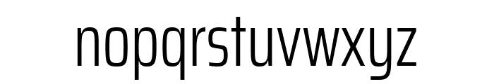 Saira ExtraCondensed Light Font LOWERCASE