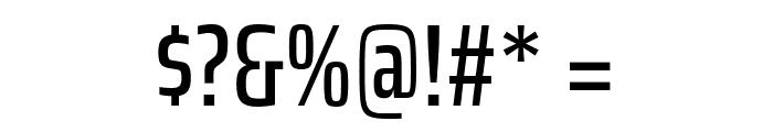 Saira ExtraCondensed Medium Font OTHER CHARS