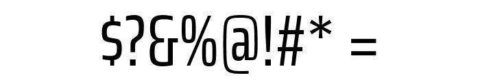 Saira ExtraCondensed Regular Font OTHER CHARS