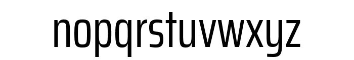 Saira ExtraCondensed Regular Font LOWERCASE