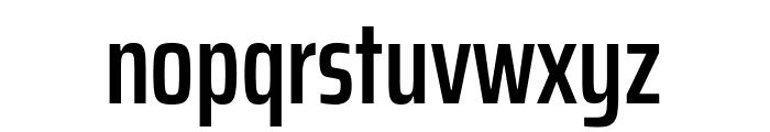 Saira ExtraCondensed SemiBold Font LOWERCASE