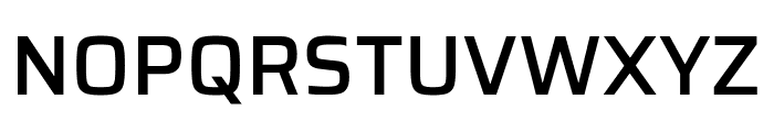 Saira Medium Font UPPERCASE