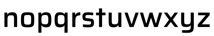 Saira Medium Font LOWERCASE
