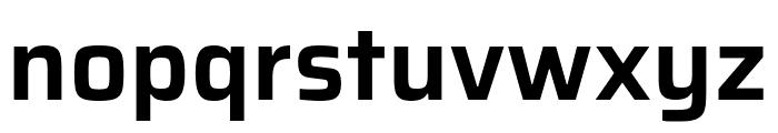 Saira SemiBold Font LOWERCASE