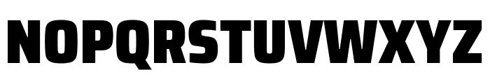 Saira SemiCondensed Black Font UPPERCASE