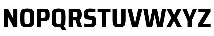 Saira SemiCondensed Bold Font UPPERCASE