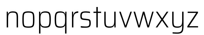 Saira SemiCondensed ExtraLight Font LOWERCASE