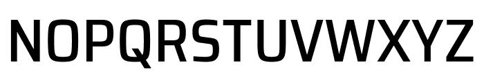 Saira SemiCondensed Medium Font UPPERCASE
