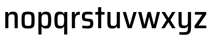 Saira SemiCondensed Medium Font LOWERCASE