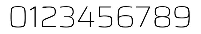 Saira Thin Font OTHER CHARS