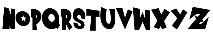 Saiyan Sans - Left ObliqueRegular Font UPPERCASE
