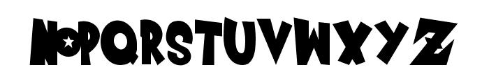Saiyan Sans - Left ObliqueRegular Font LOWERCASE