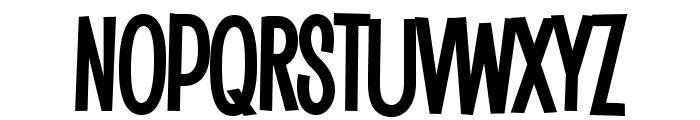 Saker Sans Bold PERSONAL USE Font UPPERCASE