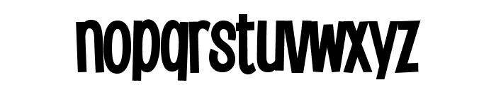 Saker Sans Bold PERSONAL USE Font LOWERCASE