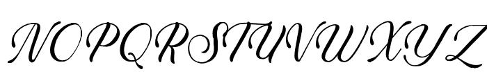 Salazar Font UPPERCASE